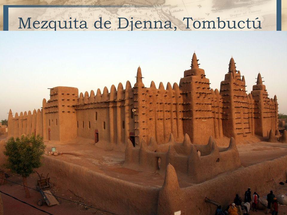 Mezquita de Djenna, Tombuctú 38