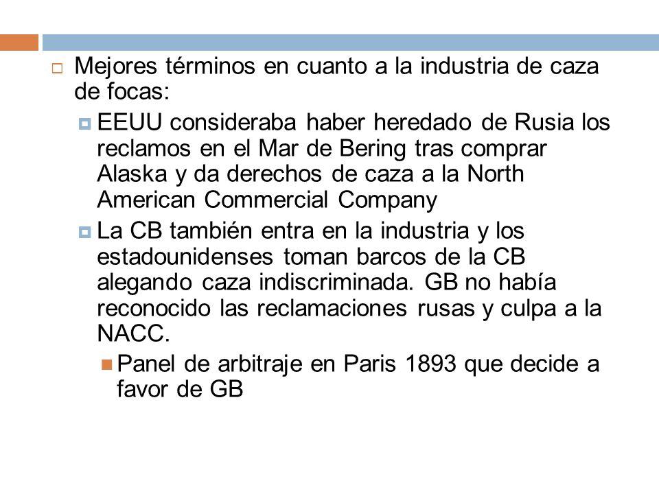 Mejores términos en cuanto a la industria de caza de focas: EEUU consideraba haber heredado de Rusia los reclamos en el Mar de Bering tras comprar Ala