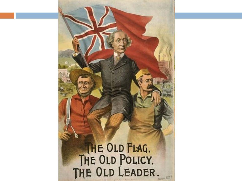 Liberales: declaran su apoyo para una reciprocidad sin restricciones pero eso los alejaba de la idea de una unión comercial y los volvía más radicales.