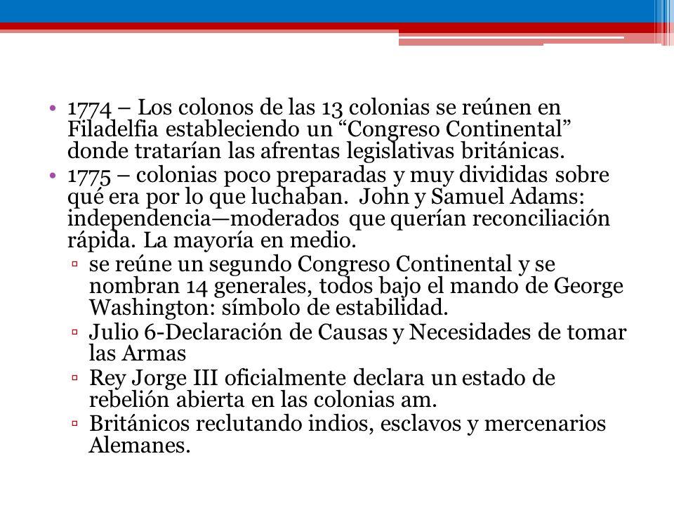Federalistas: aquellos que apoyaban la constitución, mejor organizados y tenían el apoyo de Franklin y Washington Alexander Hamilton, James Madison y John Jay escriben los Federalist Papers (Publius) explicando las virtudes de la constitución Antifederalistas: defensores de los verdaderos principios de la revoluciónla constitución establecería un centro de poder fuerte, potencialmente tiránico.