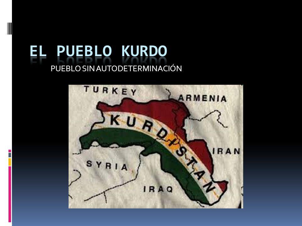 EL PUEBLO KURDO Pueblo indoeuropeo.Suroeste de Asia.