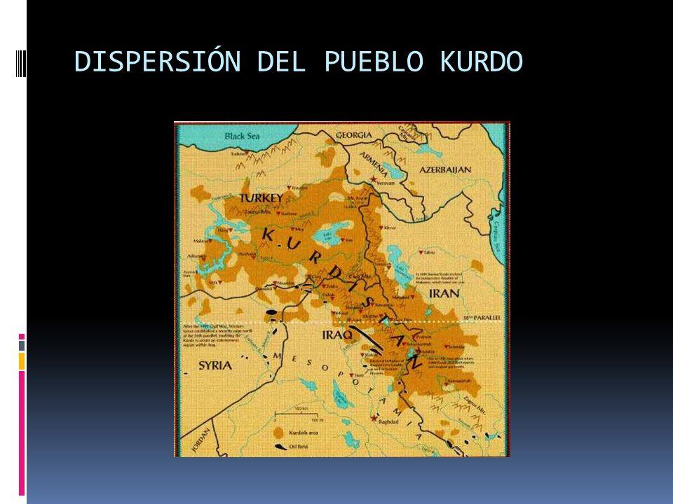 DISPERSIÓN DEL PUEBLO KURDO