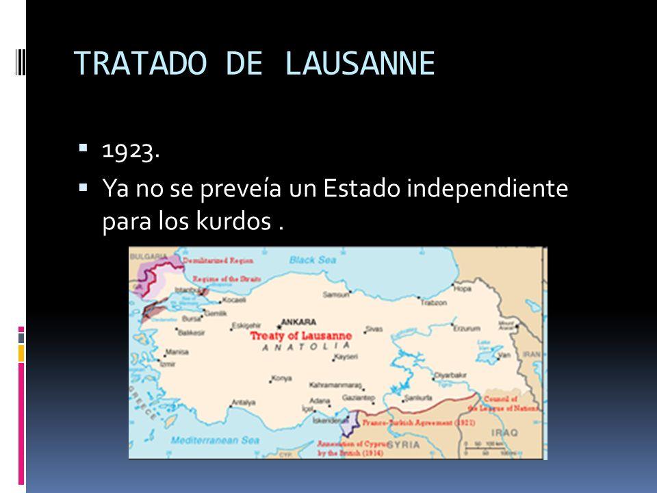 Intentos para formar un Estado Kurdo 1922-1924: Reino de Kurdistan en Irak.