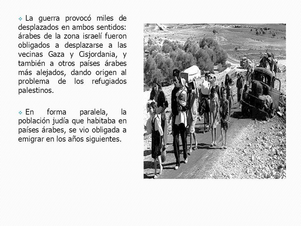 En 1948, la ONU reconoció el derecho al retorno de los refugiados palestinos y creó la Agencia de las Naciones Unidas para los Refugiados Palestinos (UNRWA) con la esperanza de un retorno inmediato, algo que sin embargo no sucedió.