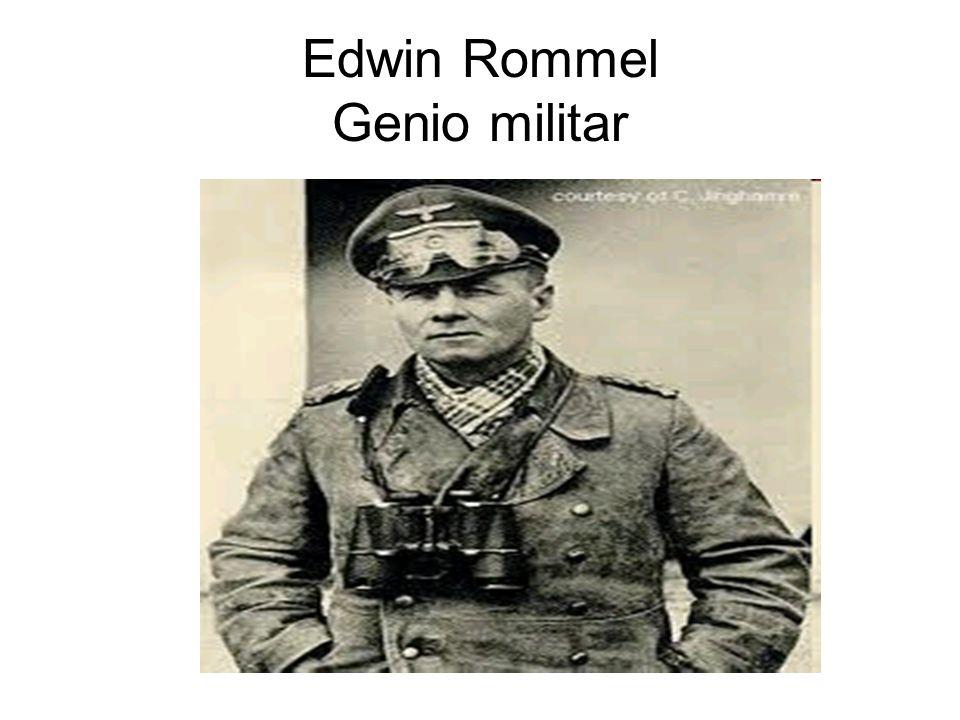 Edwin Rommel Genio militar