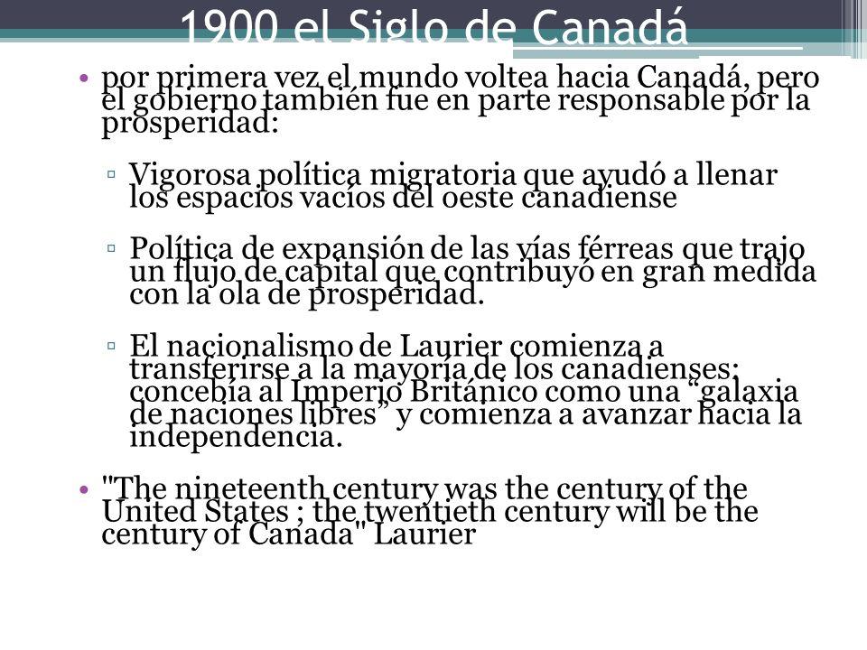 por primera vez el mundo voltea hacia Canadá, pero el gobierno también fue en parte responsable por la prosperidad: Vigorosa política migratoria que a