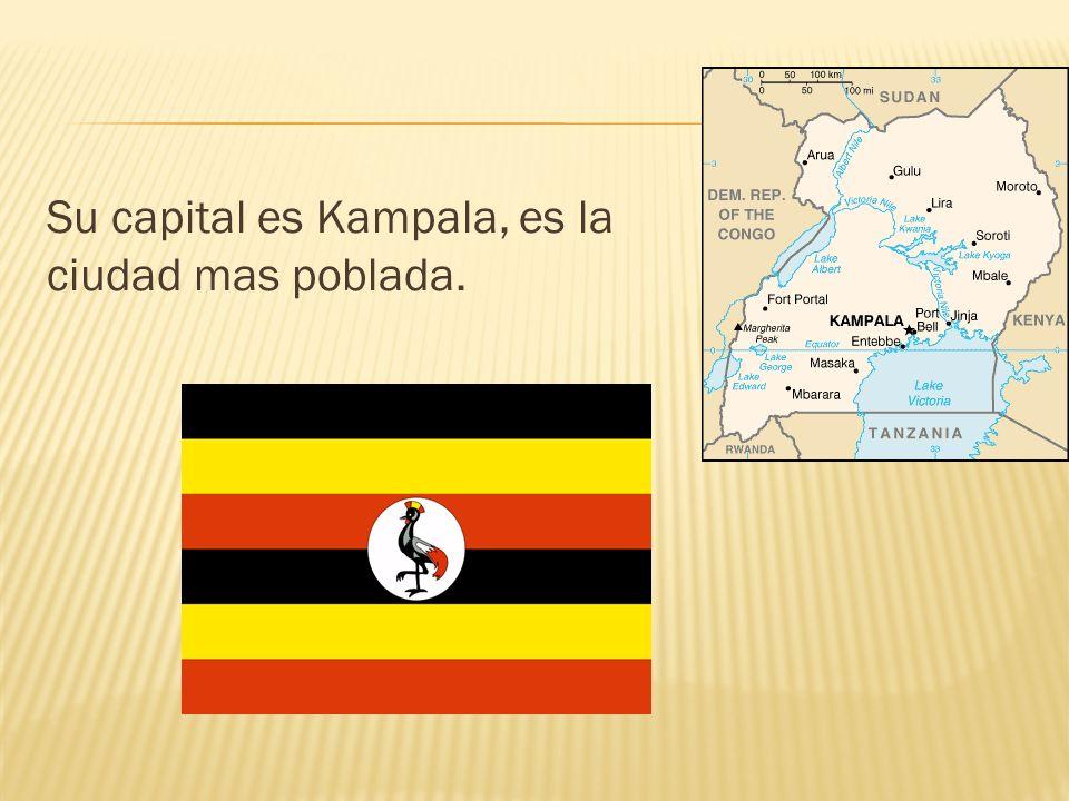 Su capital es Kampala, es la ciudad mas poblada.