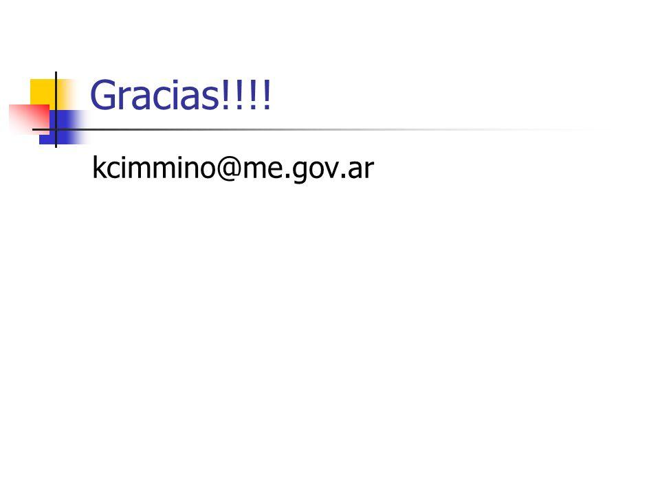 Gracias!!!! kcimmino@me.gov.ar