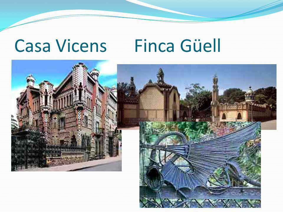 Casa Milá o la Pedrera Es un proyecto de Antoni Gaudi de 1905.