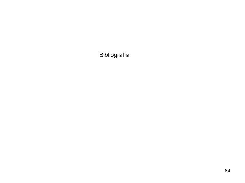84 Bibliografía