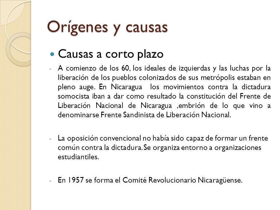 Orígenes y causas Causas a corto plazo - A comienzo de los 60, los ideales de izquierdas y las luchas por la liberación de los pueblos colonizados de