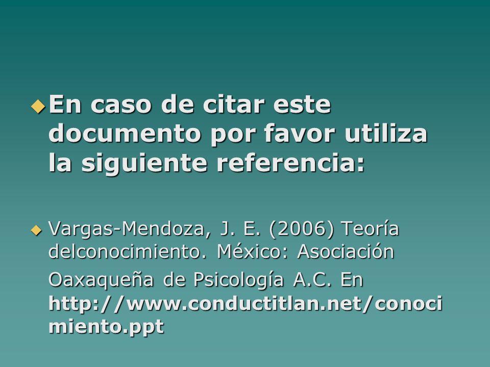 En caso de citar este documento por favor utiliza la siguiente referencia: En caso de citar este documento por favor utiliza la siguiente referencia: