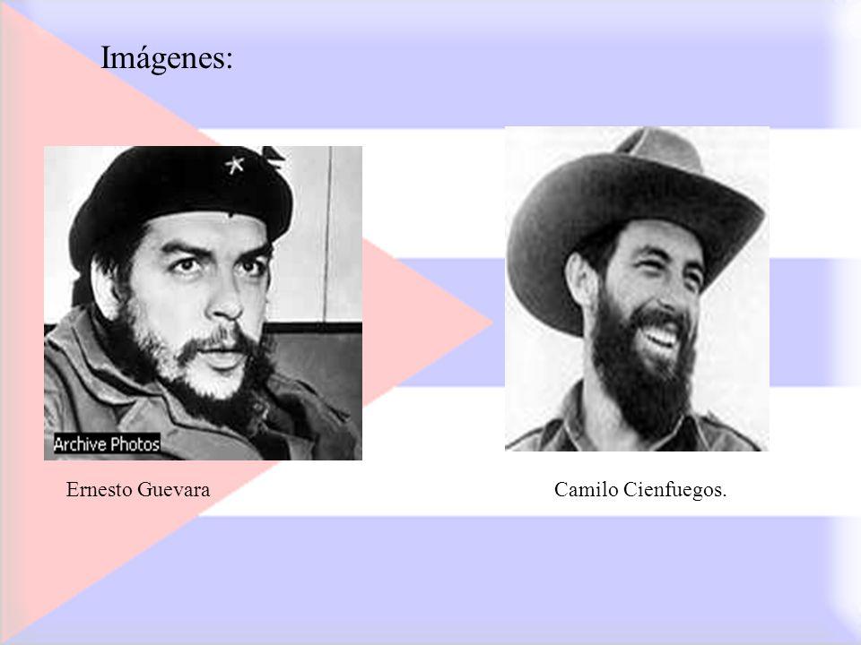 Imágenes: Ernesto GuevaraCamilo Cienfuegos.