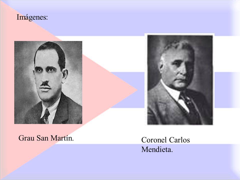 Coronel Carlos Mendieta. Imágenes: Grau San Martín.
