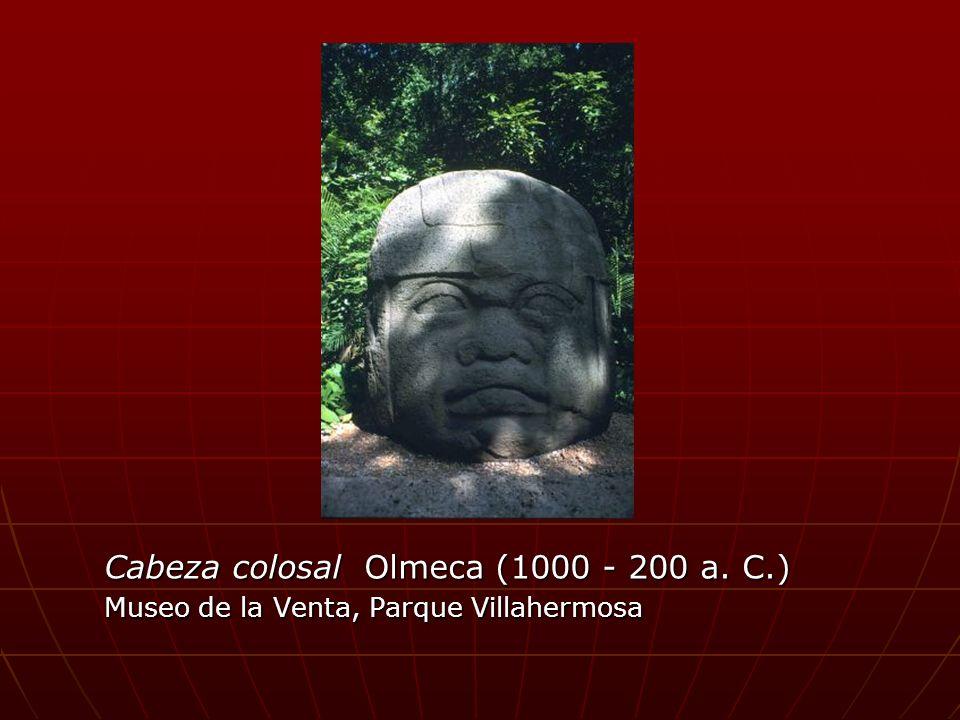 Cabeza colosal Olmeca (1000 - 200 a. C.) Museo de la Venta, Parque Villahermosa