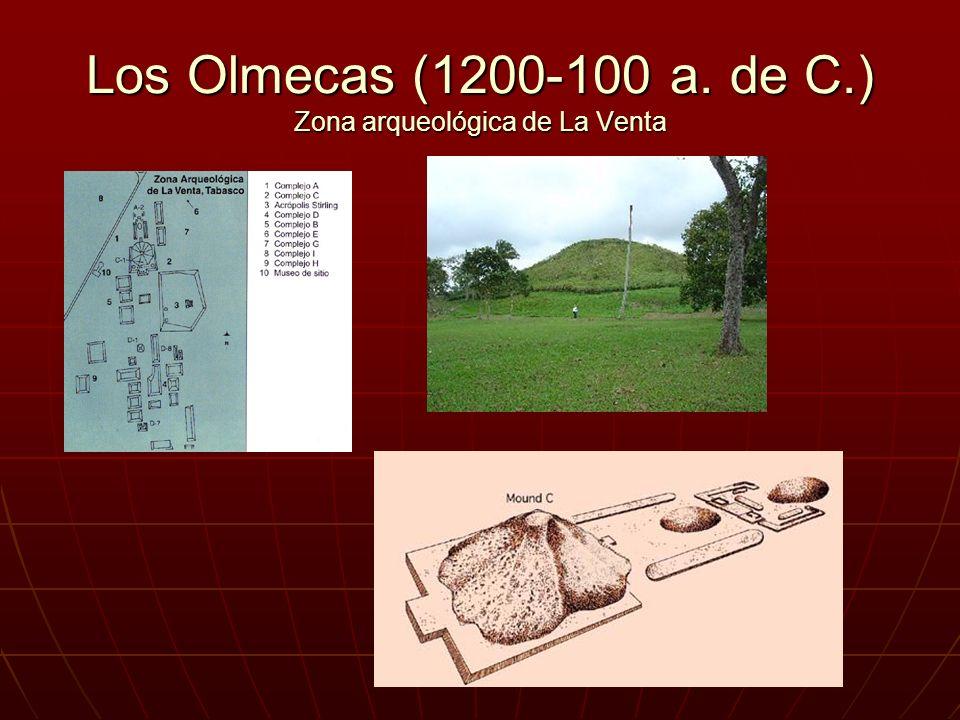 Los Olmecas (1200-100 a. de C.) Zona arqueológica de La Venta