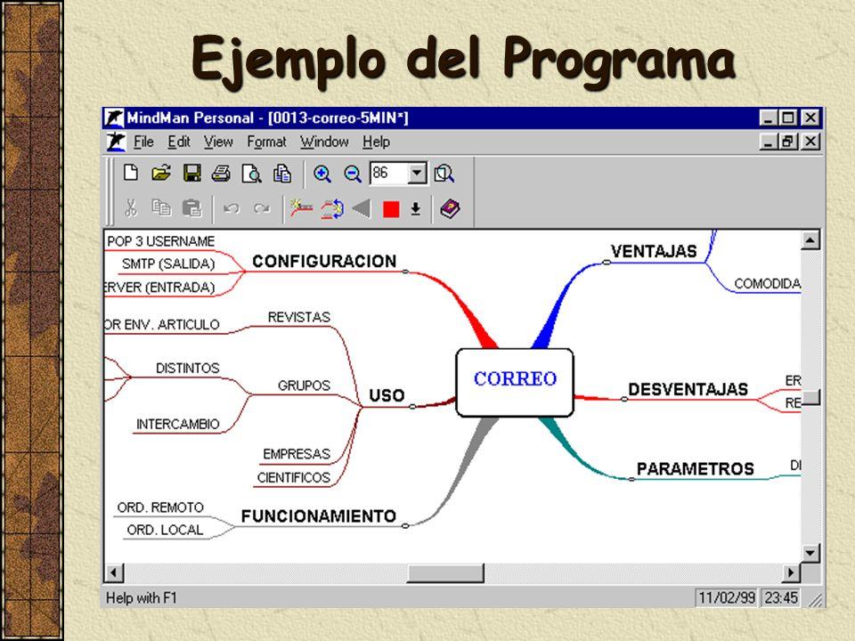 Ejemplo del Programa