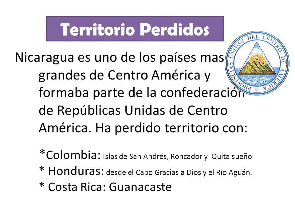 Nicaragua es uno de los países mas grandes de Centro América y formaba parte de la confederación de Repúblicas Unidas de Centro América. Ha perdido te