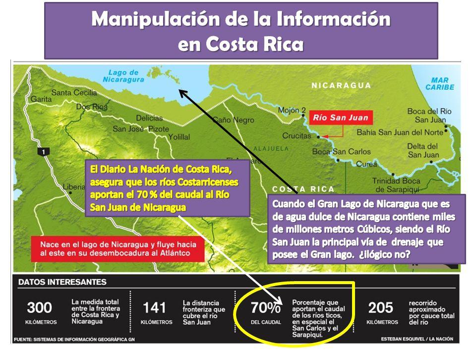 Manipulación de la Información en Costa Rica