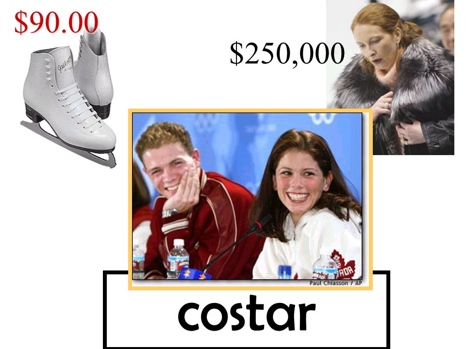 costar$90.00 $250,000