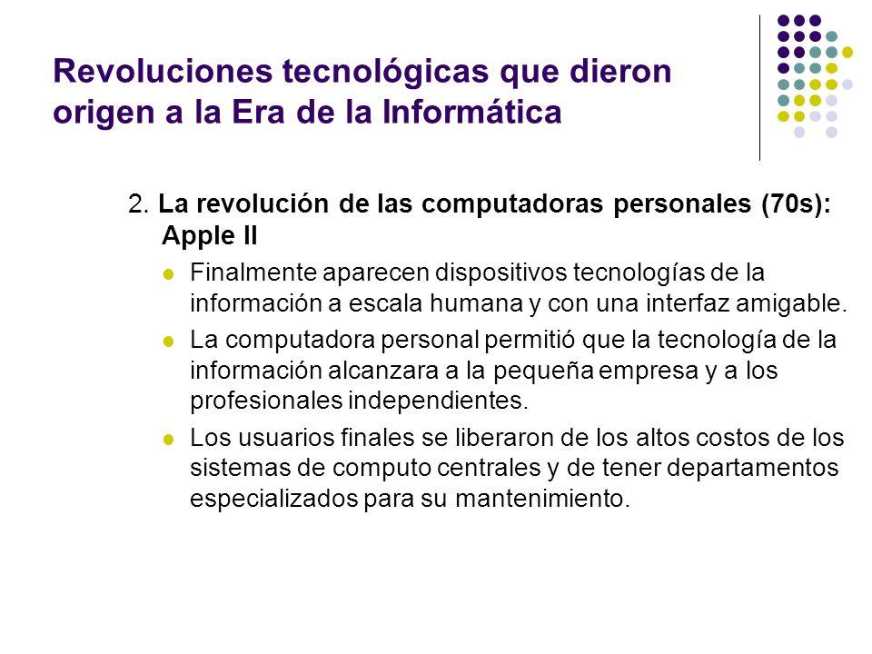 3.La revolución en las telecomunicaciones (80s): la fibra óptica.