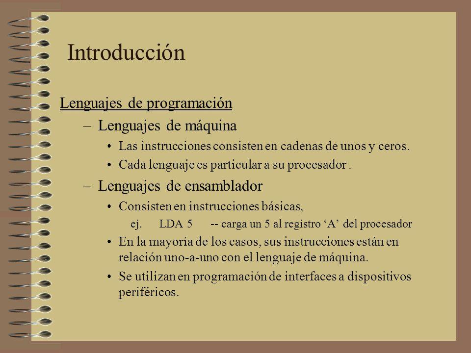 Generación de código intermedio –Esta etapa es el inicio del proceso de síntesis de la expresión y genera una representación intermedia explicita del programa.