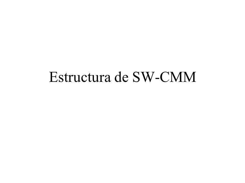 Estructura de SW-CMM