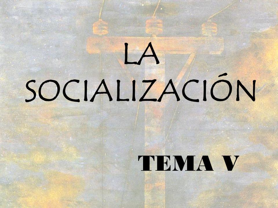 LA SOCIALIZACIÓN TEMA V