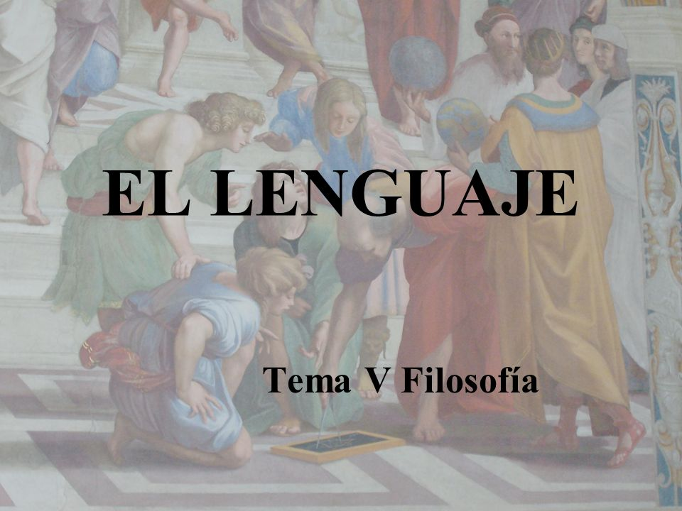 5.El lenguaje es fruto de la capacidad simbólica del hombre.