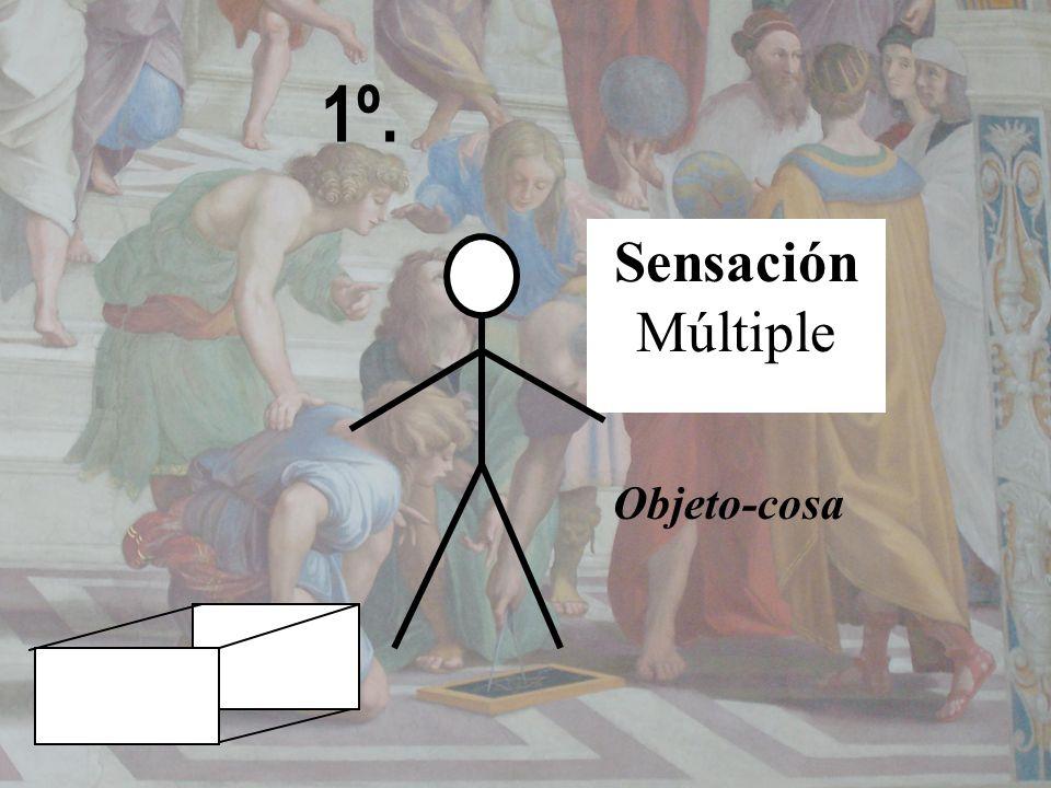 1º. Objeto-cosa Sensación Múltiple