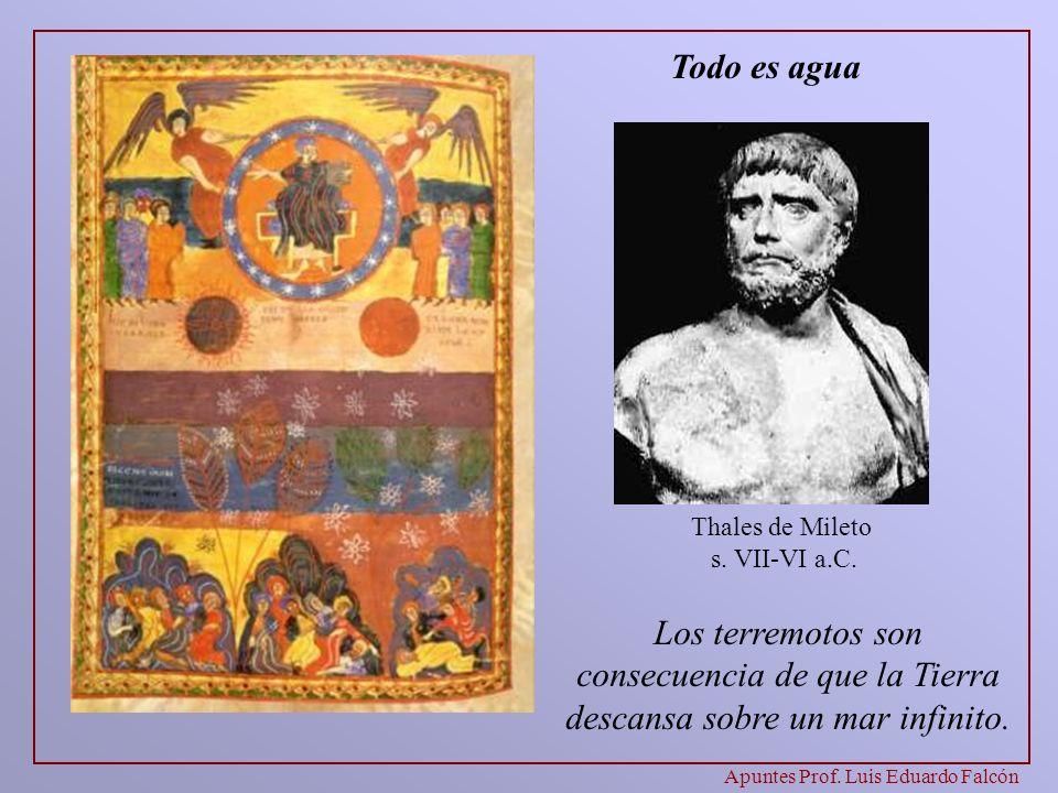 Apuntes Prof.Luis Eduardo Falcón Pitágoras s.VI-V a.