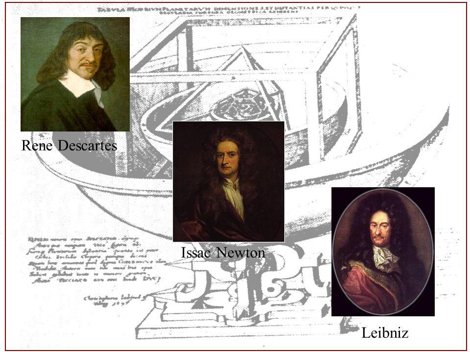 Apuntes Prof. Luis Eduardo Falcón La Matemáticas y la Física son las dos ramas científicas que en el s. XVII tienen el mayor formalismo de entre todas