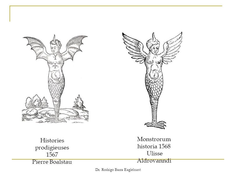 Dr. Rodrigo Barra Eaglehurst Histories prodigieuses 1567 Pierre Boalstau Monstrorum historia 1568 Ulisse Aldrovanndi