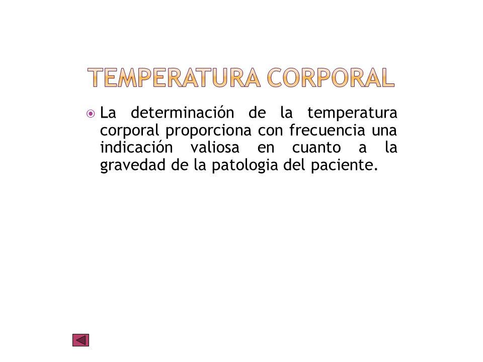 Temperatura corporal ¿Cómo se mide la temperatura? Valores normales Nomenclatura Imágenes