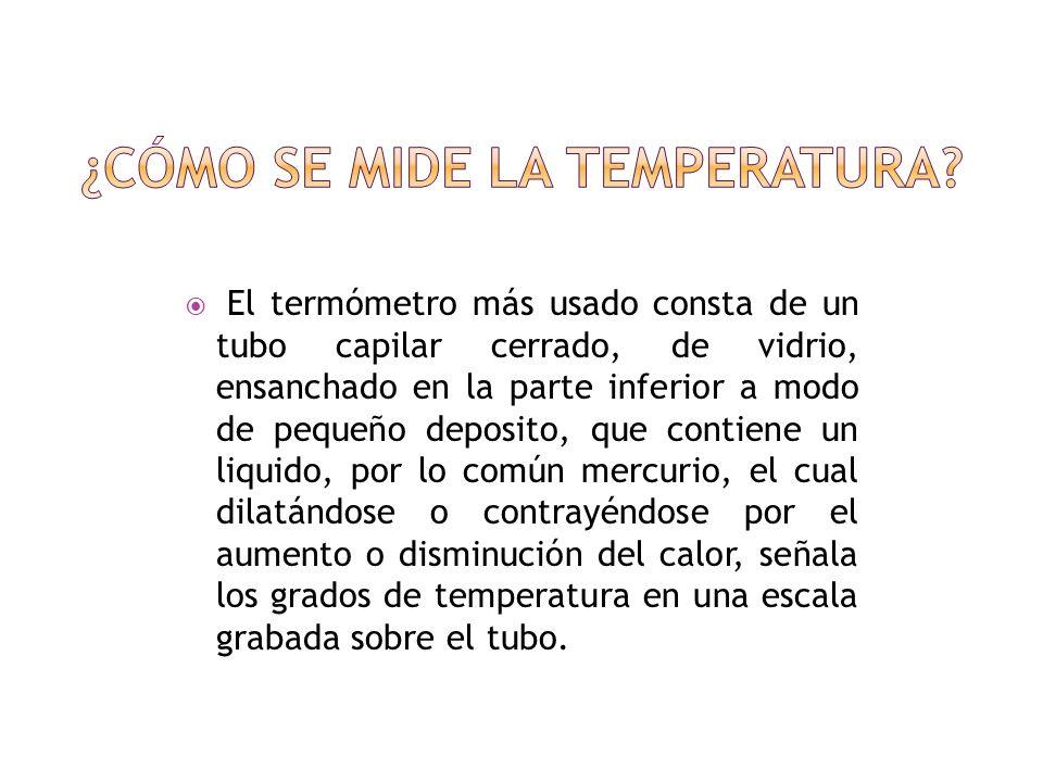 Se verifica con un aparato inventado por Galileo, llamado termómetro.