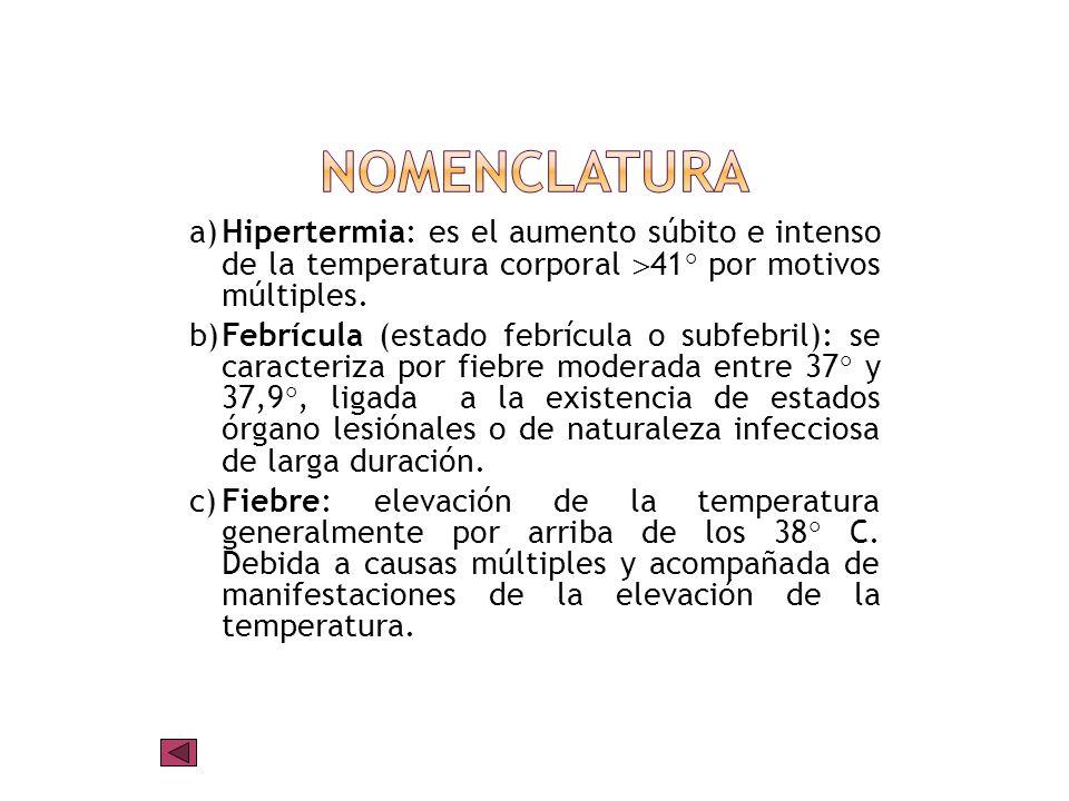 Se considera que una persona tiene fiebre cuando la temperatura registrada en la axila o la ingle supera los 37ºC; si en el recto, sobre 37,6ºC. El pu