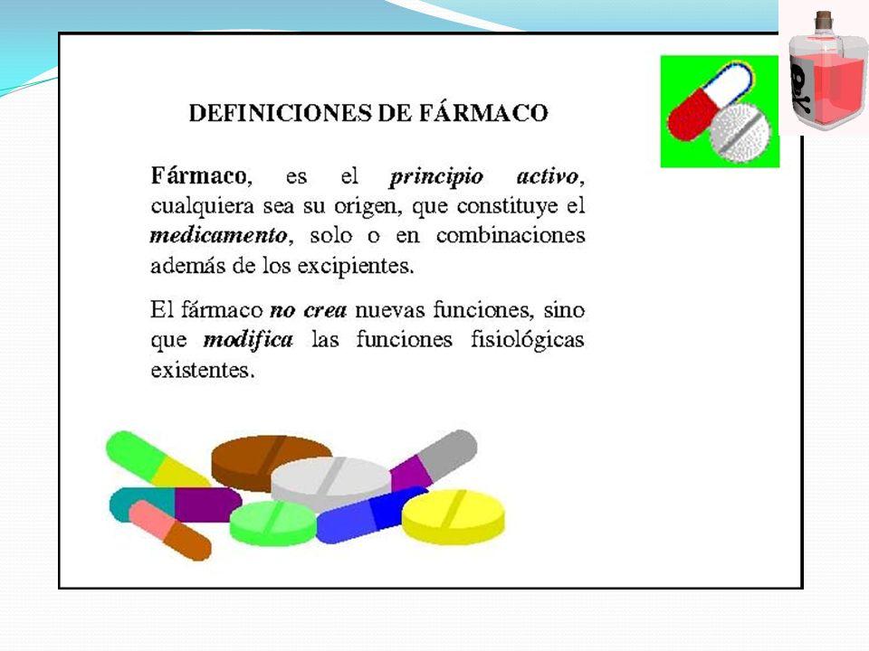 PROCESOS COMPROMETIDOS EN EL EFECTO FAMACOLOGICO El propósito de administrar un medicamento es obtener en el sitio de acción una concentración tal que se inicie los eventos que originan su acción biológica