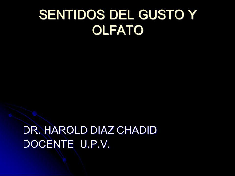 TRANSMISION DE LAS SEÑALES OLFATORIAS EN EL S.N.C.