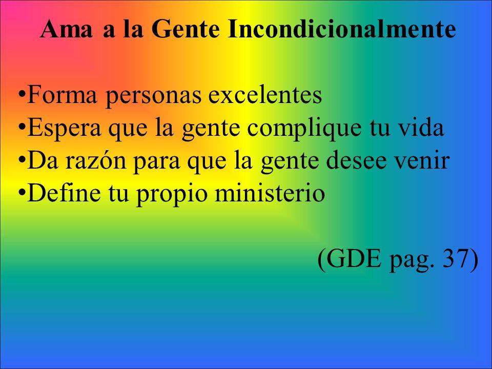 Declaraciones claves a cerca de la Administración Personal (GDE pag. 38)