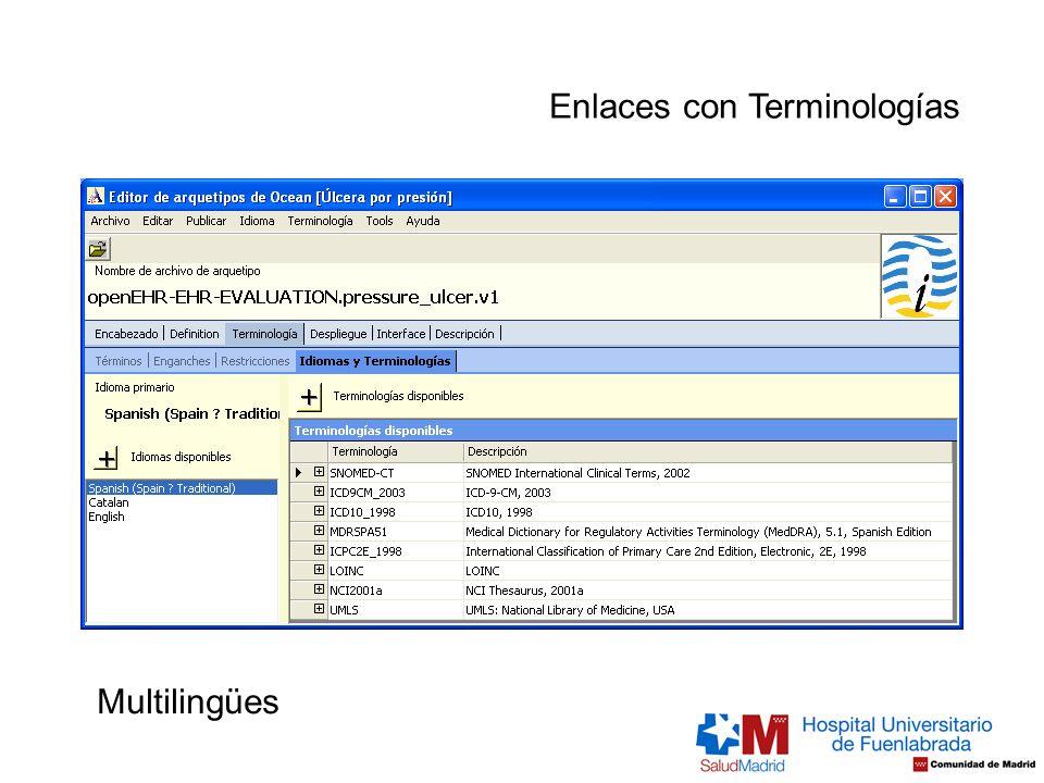 Multilingües Enlaces con Terminologías