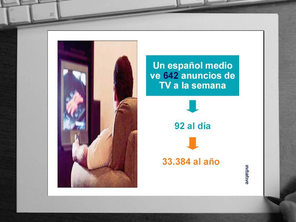 España es el 3º país del mundo con mayor saturación publicitaria, por detrás de EEUU e Indonesia.
