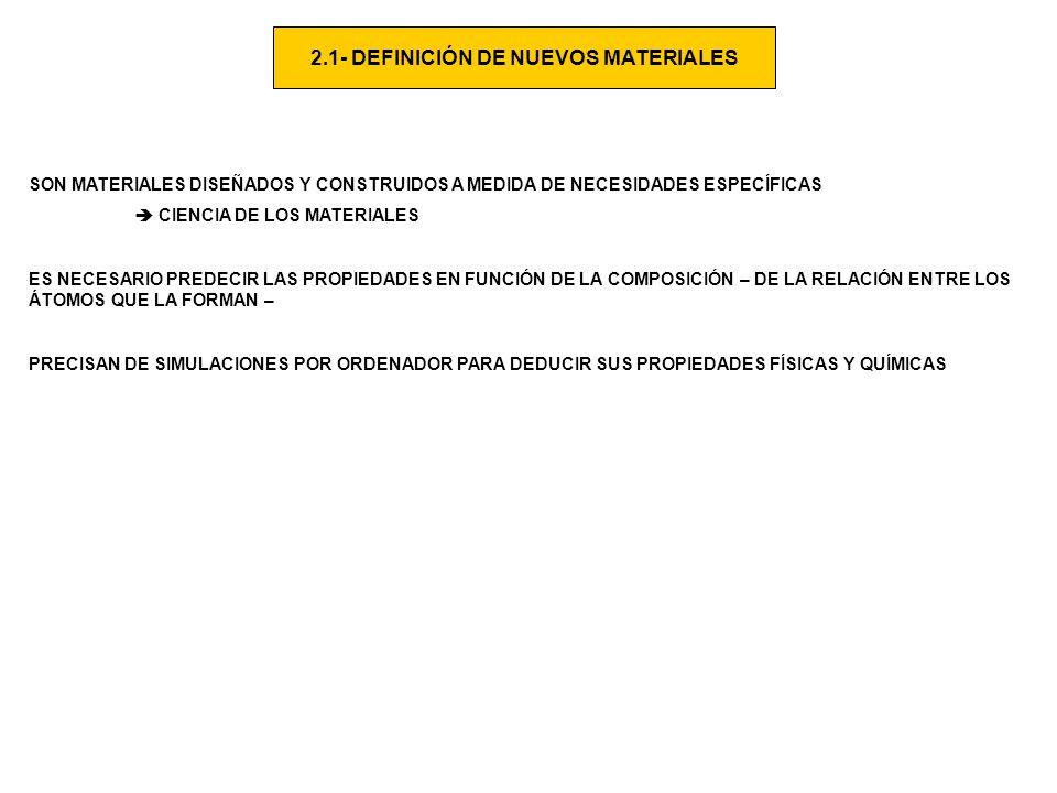 2.2.- CLASIFICACIÓN METALES PROPIEDADES: + ALTA CONDUCTIVIDAD TÉRMICA Y ELÉCTRICA + DENSIDAD ELEV ADA + GRAN TENACIDAD + DUCTILIDAD,..