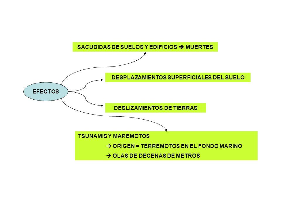 PELIGROSIDAD DE LOS VOLCANES EXPLOSIVIDAD DE LAS ERUPCIONES 1.- EXPLOSIVIDAD DE LAS ERUPCIONES + Relacionado con la Viscosidad y el contenido en Gases del magma + A mayor viscosidad y gases más violenta es la explosión + NUBES ARDIENTES y COLADAS PIROCLÁSTICAS = se desplazan a gran velocidad TIPO DE PRODUCTOS EXPULSADOS 2.- TIPO DE PRODUCTOS EXPULSADOS Pueden alcanzar los 1000 km (según altura alcanzada y velocidad del viento) Tamaños diversos Lluvia de cenizas, piedra pómez y lapilli (caen tejados, visibilidad, cultivos sepultados…) Gases = CO2, CO, H2S,….