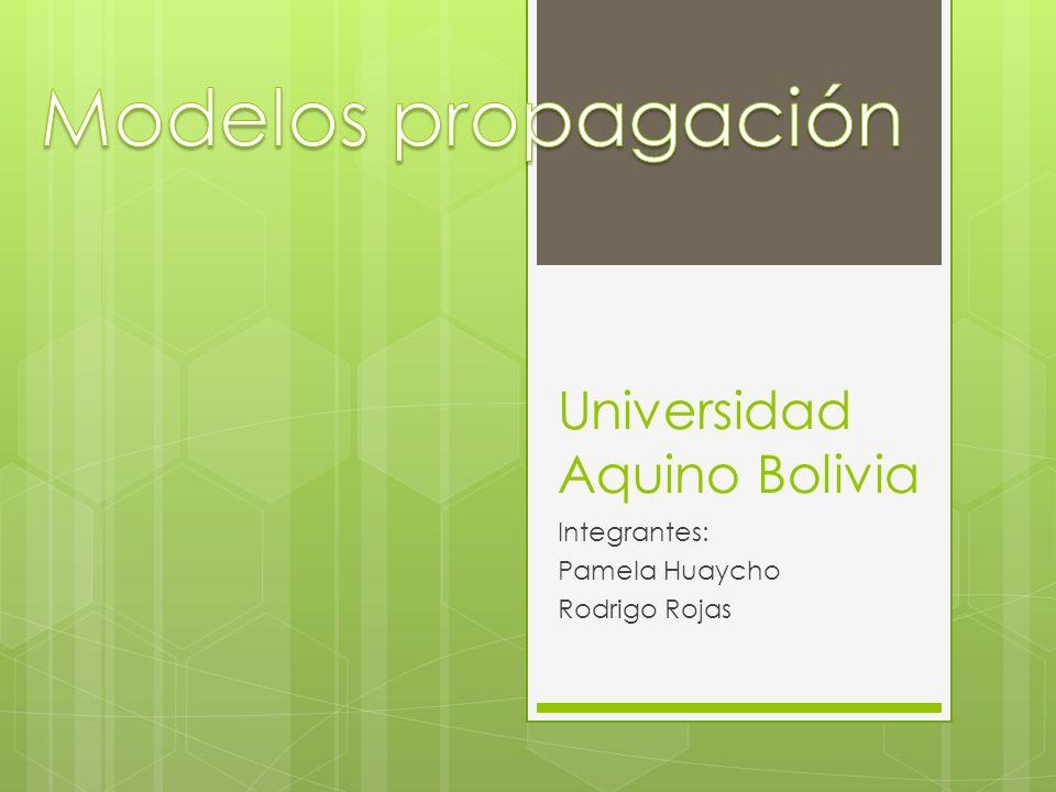 Universidad Aquino Bolivia Integrantes: Pamela Huaycho Rodrigo Rojas
