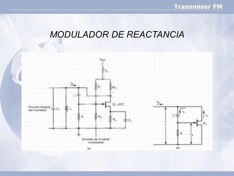 Transmisor FM MODULADOR DE REACTANCIA