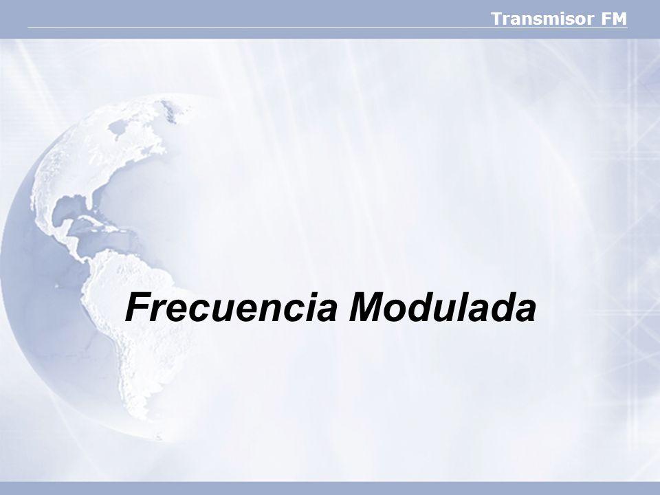 Transmisor FM Frecuencia Modulada