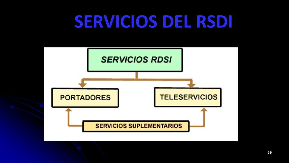 SERVICIOS DEL RSDI 39