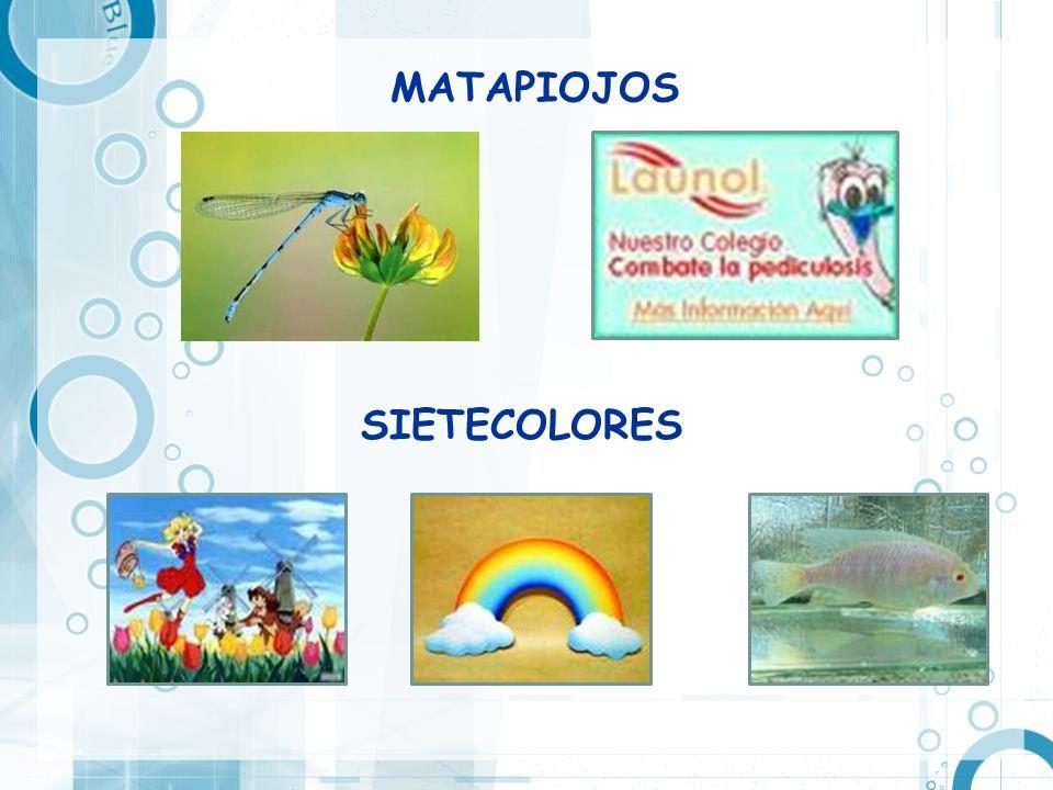 MATAPIOJOS SIETECOLORES