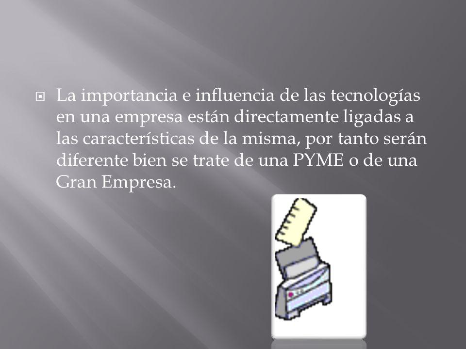 Hoy en día, los progresos en las denominadas tecnologías de la información, que abarcan los equipos y aplicaciones informáticas y las telecomunicaciones, están teniendo un gran efecto.