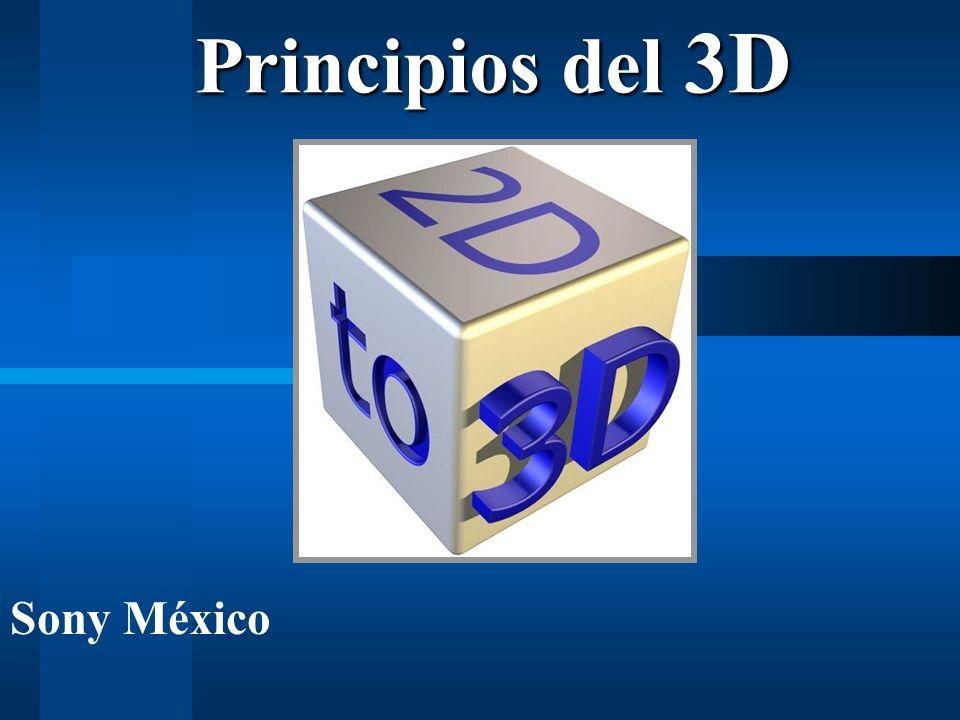 Principios del 3D Sony México